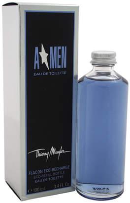 Thierry Mugler Angel 3.4Oz Men's Eau De Toilette Splash (Eco-Refill)