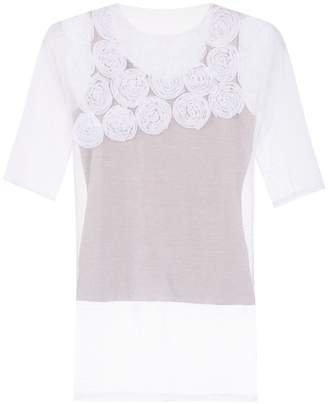 Gloria Coelho embroidered blouse