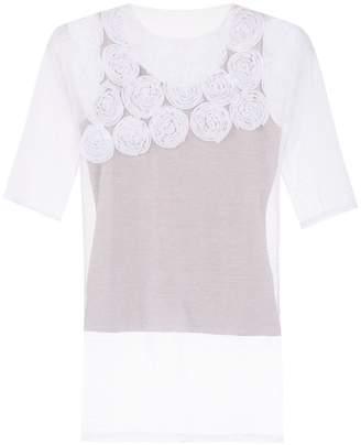 Gloria Coelho embroidered blouse
