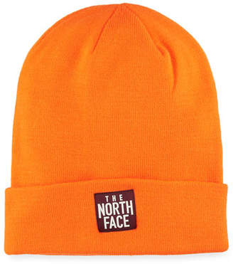 The North Face Men's Dock Worker Fold-Over Beanie, Orange