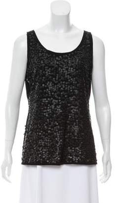 Eileen Fisher Sequin Sleeveless Top
