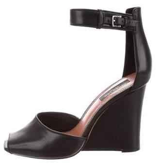 Derek Lam Leather Ankle Strap Wedges