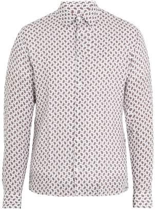 Altea Paisley-print linen shirt