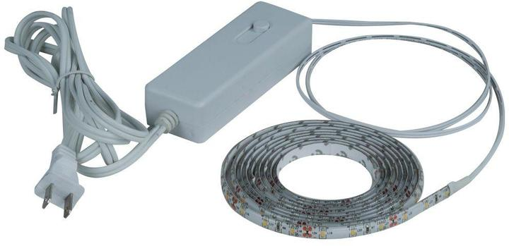 Commercial Electric 8 ft. Clear LED Flexible Tape Rated Indoor Under Cabinet Light Kit
