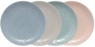 Denby Monsoon Gather Set Of 4 Medium Plates