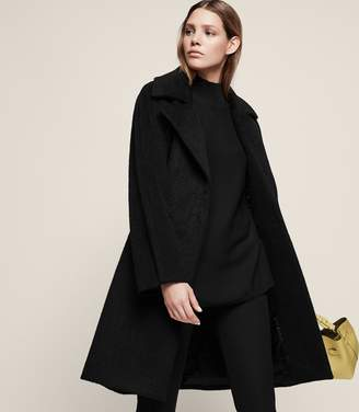 Reiss Cabe Cable Coat
