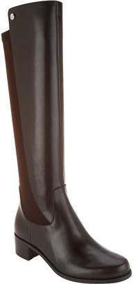Marc Fisher Medium Calf Leather Tall Shaft Boots - Incept