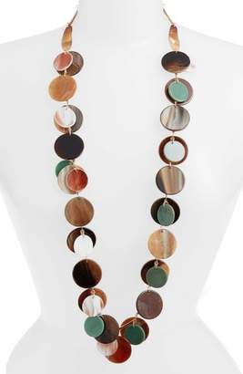 Stella + Ruby Layered Disc Necklace