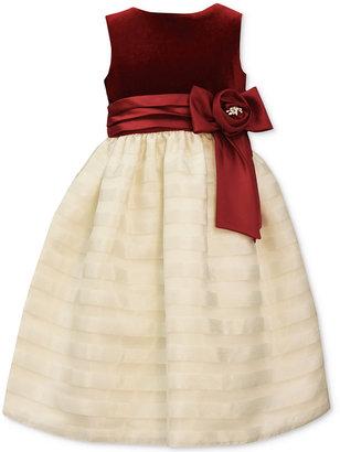 Jayne Copeland Velvet & Organza Party Dress, Big Girls (7-16) $84 thestylecure.com