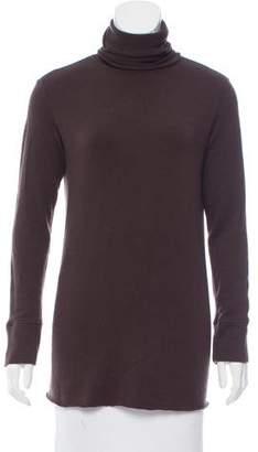 Hache Turtleneck Wool Top