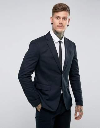 AllSaints Slim Fit Suit Blazer