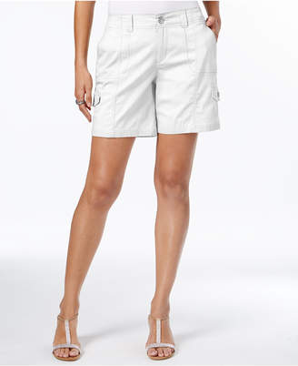 Style & Co Comfort-Waist Cargo Shorts, Only at Macy's $46.50 thestylecure.com