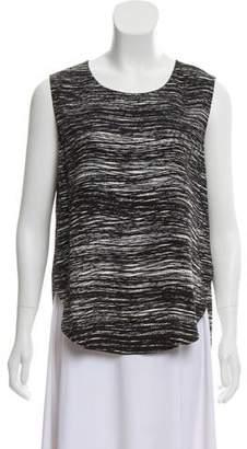 Calvin Klein Collection Sleeveless High-Low Tunic
