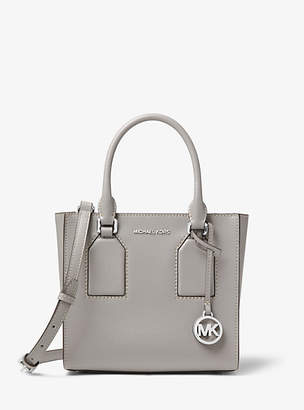Michael Kors Selby Crossgrain Leather Messenger
