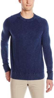 Tommy Hilfiger Men's Thdm Gd Wash Crew Neck Long Sleeve Pull Over Sweater