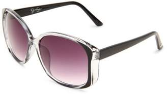 Jessica Simpson Women's J565 OX Square Sunglasses