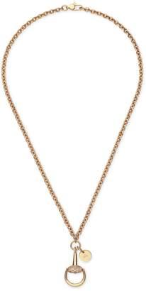 Gucci Diamond Horsebit necklace