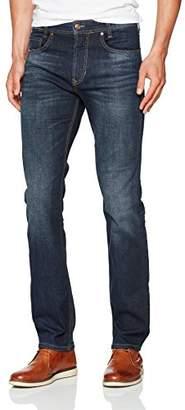 M·A·C MAC Men's Arne 01 Dark Vintage Blue Loose Fit Jeans,35 W/34 L