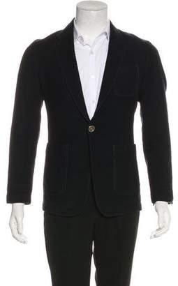 CNC Costume National Deconstructed Wool Sport Coat