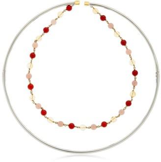 Ettore Beaded Choker Necklace