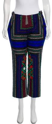 Sacai Mid-Rise Quilted Pants