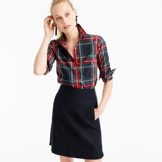 Tall perfect shirt in Stewart plaid $78 thestylecure.com