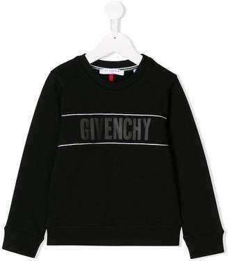 Givenchy Kids logo sweatshirt
