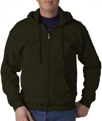Gildan Heavy Blend Unisex Adult Full Zip Hooded Sweatshirt Top (XXL)