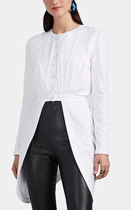 HIRAETH Women's Ella Cotton Shirt Jacket - White