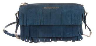 Burberry Peyton Fringe Crossbody Bag