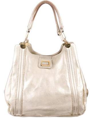 Chloé Metallic Leather Tote