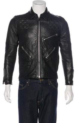 Surface to Air Leather Moto Jacket