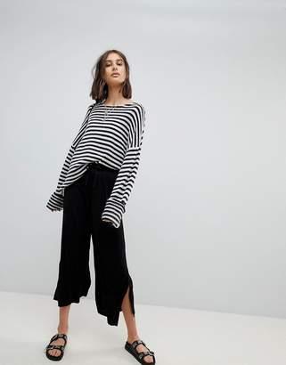 Asos DESIGN cropped drawstring pants