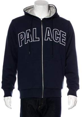 Palace Skateboards Logo Zip-Up Hoodie w/ Tags