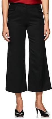 Zero Maria Cornejo Women's Tin Tech-Twill Wide-Leg Pants - Black