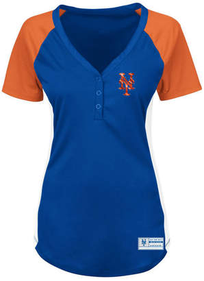 Profile Women's New York Mets League Diva Plus Size T-Shirt