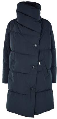 Woolrich Puffy Navy Padded Coat