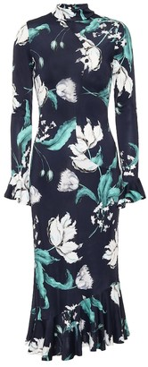 Erdem Alta floral midi dress