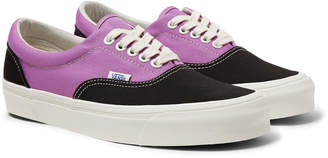 Vans Og Era Lx Colour-Block Canvas Sneakers