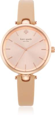 Kate Spade Holland Tan Skinny Strap Women's Watch