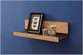 Neu Home Accented Cork Wall Mounting Shelf