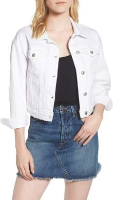 Joe's Jeans Dolman Crop Denim Jacket