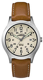 Timex Unisex Expedition Scout Tan Leather Strap