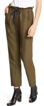 Veronica Beard Jay Ankle Carrot Pants