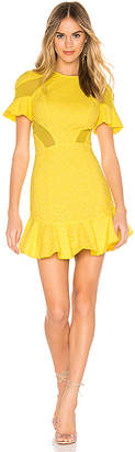 Karina Grimaldi Lila Eyelet Mini Dress