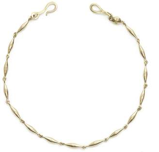 Diana Mitchell Wave Link Bracelet - Yellow Gold