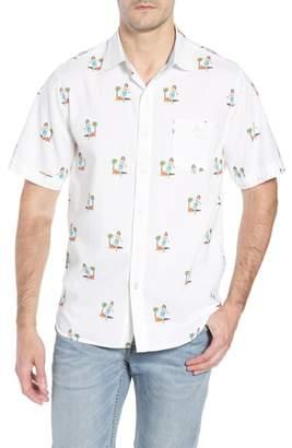 Tommy Bahama Hula Oasis Regular Fit Sport Shirt
