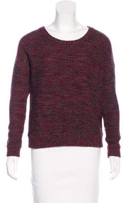 L'Agence Wool Mélange Sweater