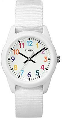 Timex Girls TW7C10300 Time Machines Nylon Strap Watch