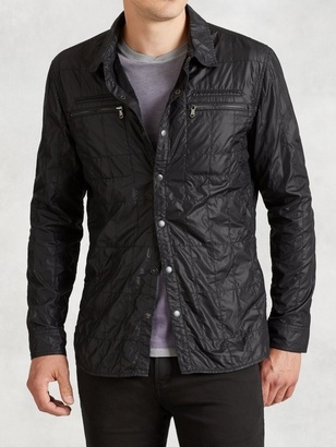 Quilted Shirt-Jacket $198 thestylecure.com